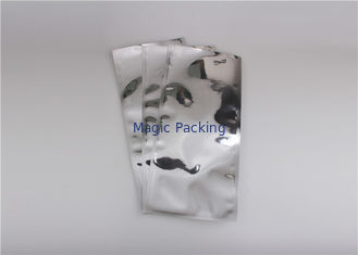 Silver Aluminum Foil Envelopes / Aluminum Heat Seal Bags For Hardware Packing